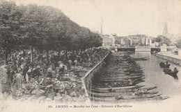 AMIENS MARCHE SUR L EAU BATEAUX D HORTILLONS - Amiens