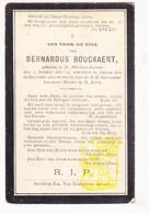 DP Bernardus Bouckaert ° Sint-Martens-Leerne 1821 † Deinze 1905 - Images Religieuses