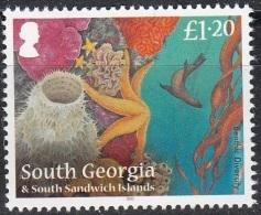 South Georgia & South Sandwich Islands 2012 Vie Marine Neuf ** - Géorgie Du Sud