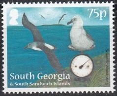 South Georgia & South Sandwich Islands 2012 Albatros Neuf ** - Géorgie Du Sud