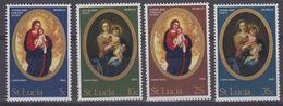 St. Lucia 1968 Christmas 4v ** Mnh (41902) - St.Lucia (...-1978)