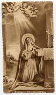 Santino Antico SANTA MARGHERITA DA CORTONA, Serie Seppia (Eb Dep 313) - R2 - Religione & Esoterismo