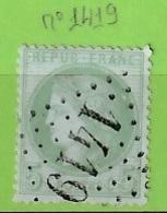 OBLIT GC N°1419 ESQUELBECQ NORD - 1849-1876: Période Classique