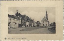 Herenthals    Groote Markt    -   1933  Naar   Molenbeek - Herentals