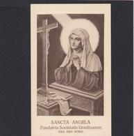 Devotieprent Sancta Angela - Religion &  Esoterik