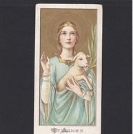 Devotieprent St. Agnes - Religion & Esotericism