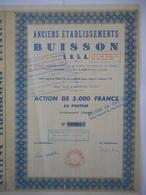 Anciens Etablissements BUISSON Ebsa MAZAGAN SEUL EXEMPLAIRE  Dernier ARRIVAGE  Du MAROC - Africa