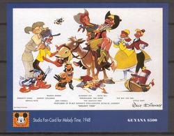 Disney Guyana 1993 Melody Time MS MNH - Disney