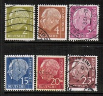 GERMANY  Scott # 702-21 VF USED (Stamp Scan # 458) - [7] Federal Republic