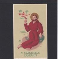 Devotieprent St.Franciscus Xaverius - Religion & Esotericism