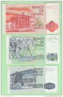 Spain Spagna 500 1000 2000 Pesetas 1979 E 1980 - [ 4] 1975-… : Juan Carlos I