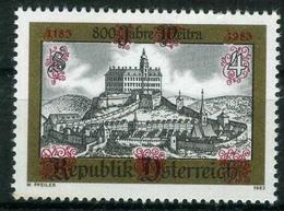 Timbre Neuf** D'autriche, N°1569 Yt, 800 Ans De La Ville De Weitra - 1945-.... 2ème République