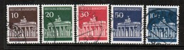 GERMANY  Scott # 952-6 VF USED (Stamp Scan # 458) - [7] Federal Republic