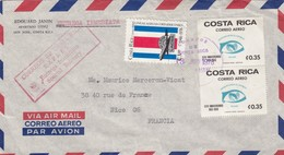COVER. LETTRE. COSTA RICA. EXPRES SPECIAL DELIVERY. SAN JOSE TO FRANCE - Unclassified