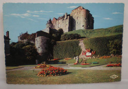 Dieppe Chateau  Francia Cartolina 1957 Storia Postale Targhetta - Castelli