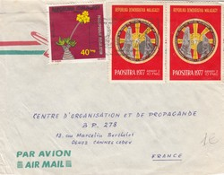 COVER. LETTRE. MADAGASCAR. 1979 TO FRANCE - Unclassified