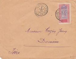 COVER. LETTRE. FRENCH COLONIE. 1924. SIKASSO SOUDAN FRANCAIS TO FRANCE - Unclassified