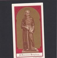 Devotieprent S.Franciscus Seraphicus - Religion & Esotericism