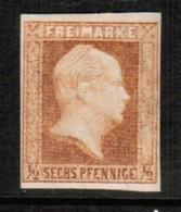 "PRUSSIA  Scott # 2* UNUSED NO GUM REPRINT ""as Is"" (Stamp Scan # 458) - Pruisen"