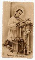Santino Antico SANCTUS ALOYSIUS Con Orazione A San Luigi Gonzaga, Serie Seppia (Eb Dep 442) - OTTIMO R2 - Religion & Esotericism