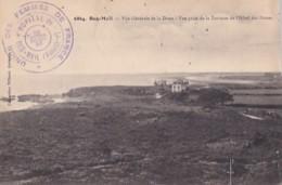 CACHET  HOPITAL  DE BEG MEIL    ERCTO VERSO SUR CP DE BEG MEIL - War 1914-18