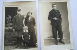 2 Cartes Photos 18e BCP Et 4e BCA - 1914-18