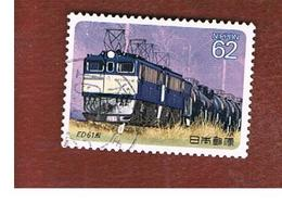 GIAPPONE  (JAPAN) - SG 2090   -   1990   ELECTRIC LOCOMOTIVES:  ED 61   - USED° - 1989-... Imperatore Akihito (Periodo Heisei)