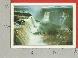 CARTOLINA NV DE AGOSTINI - ARGENTINA - Le Cascate Dell'Iguacu - Vedute Dal Mondo - 10 X 15 - Argentina