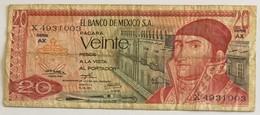 El Banco De Mexico S.A. - Veinte Pesos - Mexique