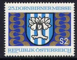 Timbre Neuf** D'autriche, N°1246 Yt, 25 Ans De La Foire De Dornbirn, Armoiries - 1945-.... 2ème République