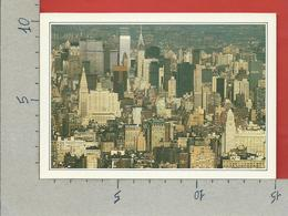 CARTOLINA NV DE AGOSTINI - USA STATI UNITI - New York - Manhattan Skyline - Vedute Dal Mondo - 10 X 15 - Manhattan