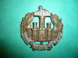 Insigne Anglais Essex Rgt 1914 - 1914-18