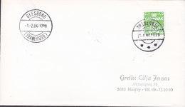 Denmark Brotype IId TOLNE 1984 Cover Brief - Briefe U. Dokumente