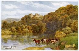 ARTIST : A.R. QUINTON - GOODRICH CASTLE, NEAR ROSS ON WYE - Quinton, AR