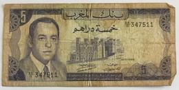 Banque De Maroc - Cinq Dirhams - Maroc