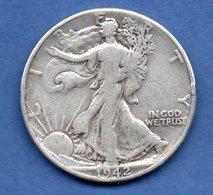 Usa  -  1/2 Dollar 1942 - Km # 142  -  état  TB+ - Federal Issues