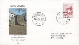 Denmark Brotype IId VALLEKILDE 1978 Cover Brief SCARCE Cds. Mushroom Pilze Champignon (NOT An FDC, Although FDC Cachet) - Dänemark