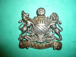 Insigne Anglais Manchester Rgt 1914 - 1914-18
