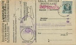 Belgique. TP 193  Impr. Korbeek-Lo > Marchienne-au-Pont 1926  Perfin Triangle    Forges De La Providence - 1922-1927 Houyoux