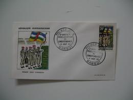 FDC  République Centrafricaine   Bangui  1963 - Centrafricaine (République)