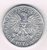 5 ZLOTE 1974  POLEN /1589/ - Poland