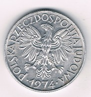5 ZLOTE 1974  POLEN /1589/ - Pologne