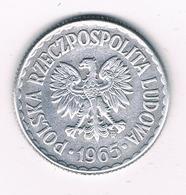 1 ZLOTY 1965  POLEN /1590/ - Pologne