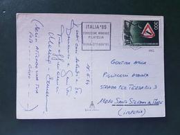 (18669) STORIA POSTALE ITALIA 1984 - 1946-.. République