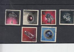 RUSSIA  1971 - Yvert   3785/90 - Diamanti - Minerali