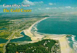 1 AK Australien * Blick Auf Die Stadt Gold Coast - Luftbildaufnahme - Queensland * - Gold Coast