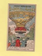 Chromo Chocolat Guerin Boutron - Dans Les Airs - N°7 - Premiere Montgolfiere - Guerin Boutron
