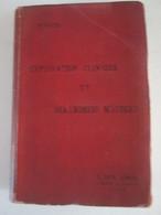 Manuel  D Exploration  Clinique  Et Diagnostic Médical   Par E Spehl    1899  Livre Ancien De Médecine  700 P - Livres, BD, Revues