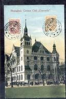 China - Shanghai - German Club Concordia - 1912 - Chine
