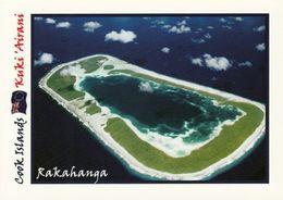 1 AK Cook Islands * Blick Auf Das Atoll Rakahanga (auch Gente Hermosa) - Luftbildaufnahme * - Cook